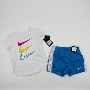 Nike DRY Training Set 'Laser Blue' Size 6